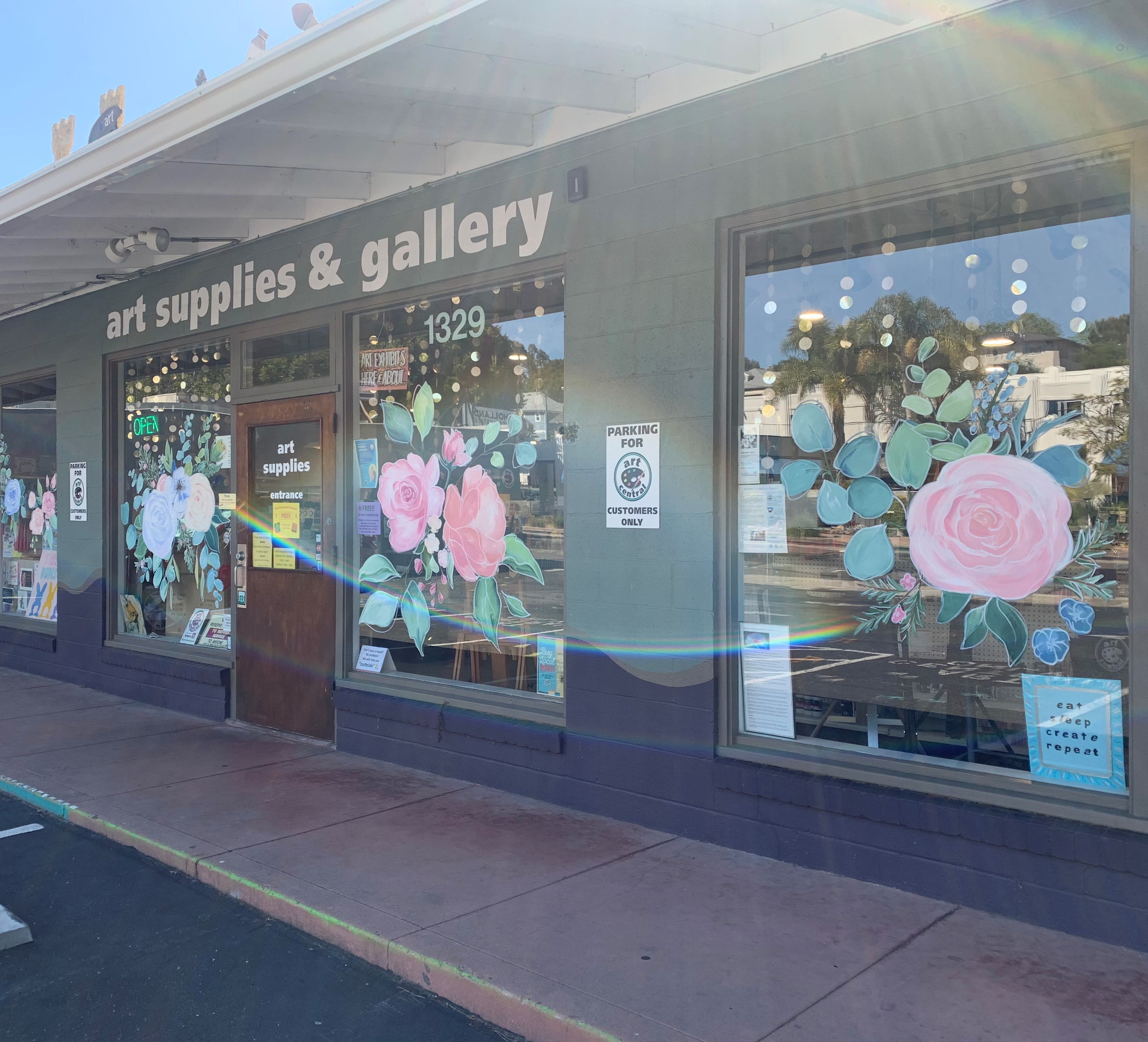 More AWESOME Virtual Gallery work plus May Flowers from Art Central and Downtown SLO!