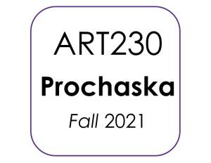 ART230 Prochaska Fall 2021