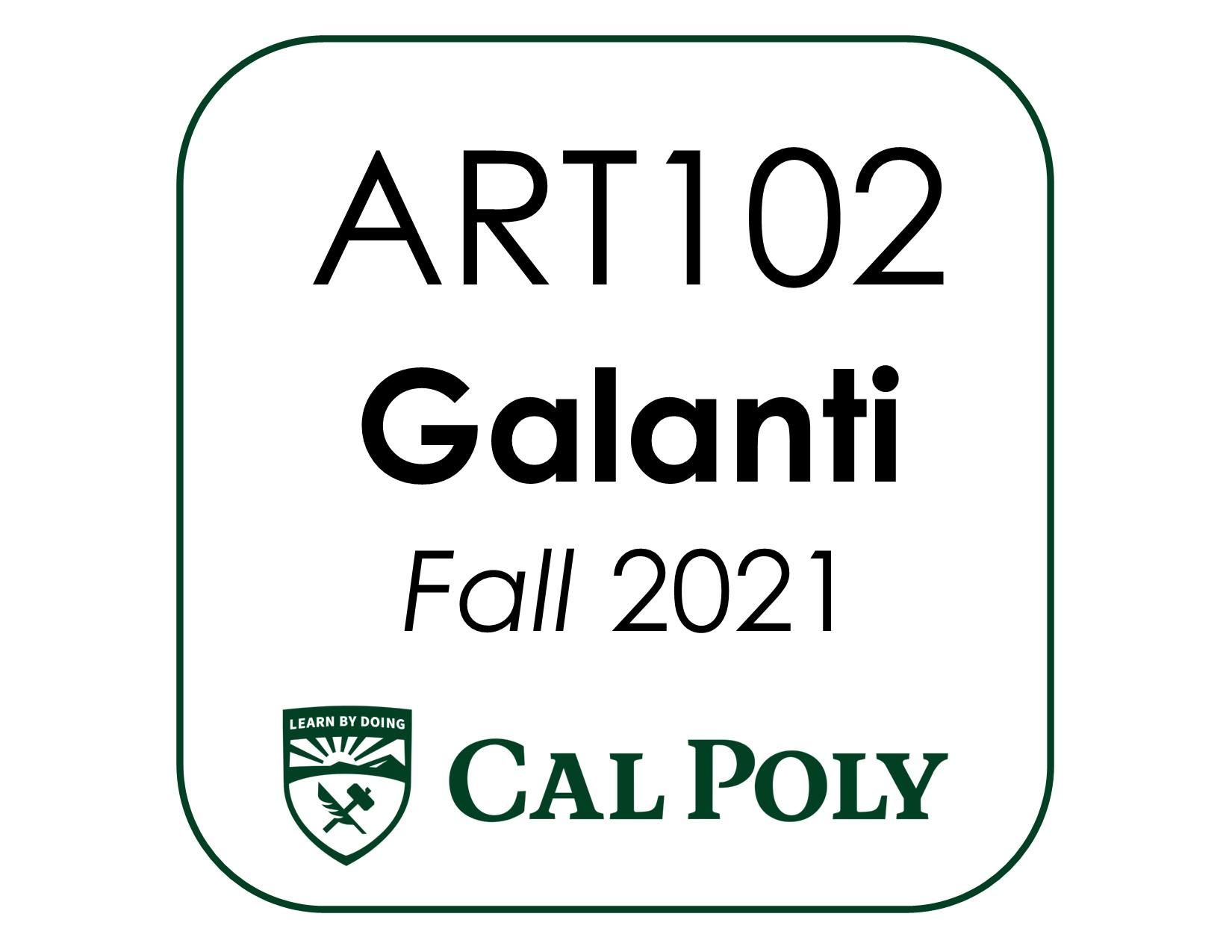 ART102 Galanti kit CP F2021